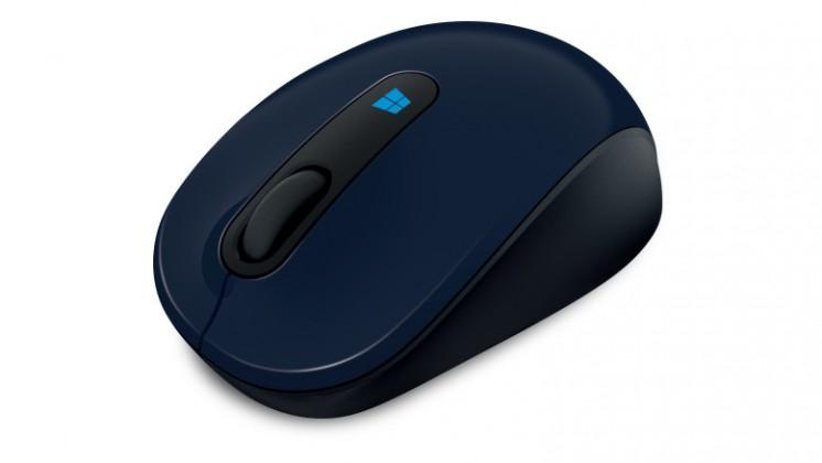 Microsoft Sculpt Mobile Mouse modrá