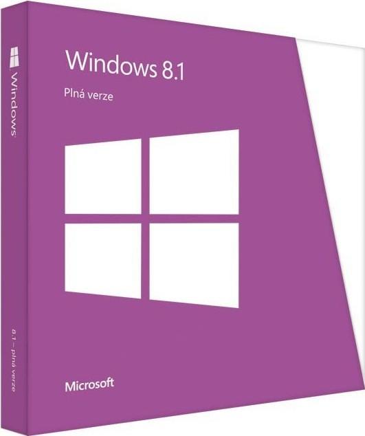 Microsoft Windows 8.1 CZ (WN7-00919)