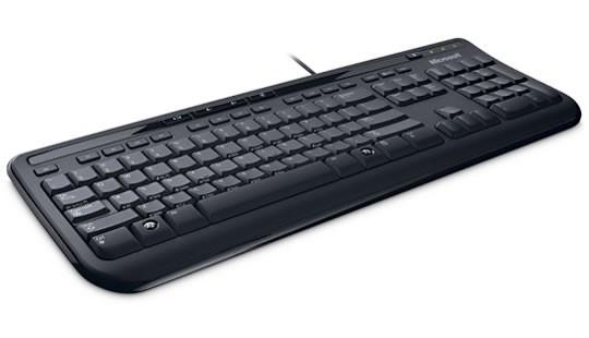 Microsoft Wired Keyboard 600 (ANB-00020), černá