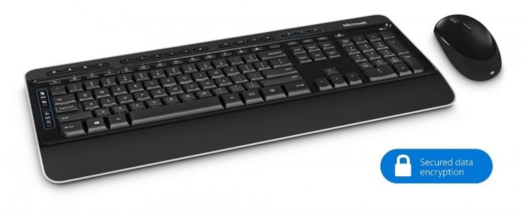 Microsoft Wireless Desktop 3050, set, CZ PP3-00021