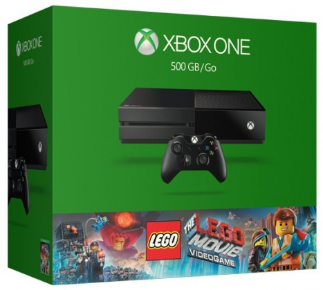 Microsoft Xbox One 500GB + LEGO Movie Videogame