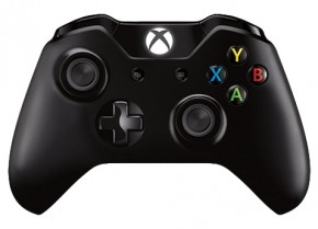 Microsoft Xbox One S Wireless Controller black
