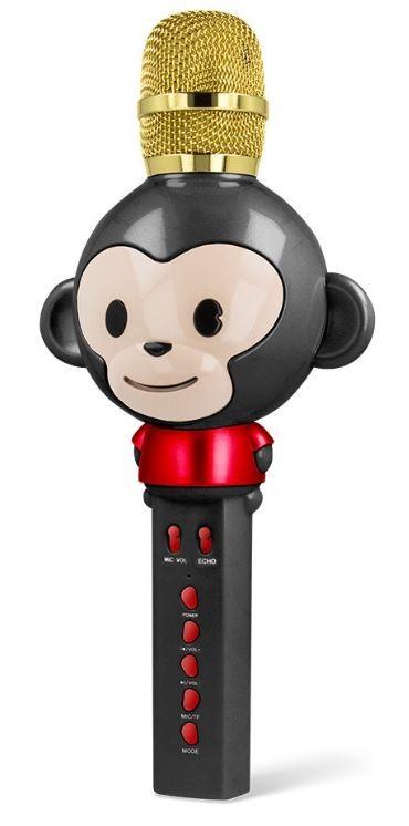 Mikrofon Bluetooth mikrofon Forever AM100B, černý