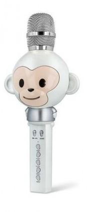 Mikrofon Bluetooth mikrofon Forever AM100V, bílý