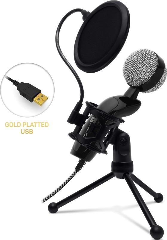 Mikrofon Mikrofon Connect IT YouMic CMI-8008-BK Plus, USB a POP filtr