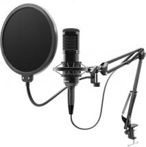 Mikrofon Niceboy VOICE Handle, pro streaming a podcasty POUŽITÉ,