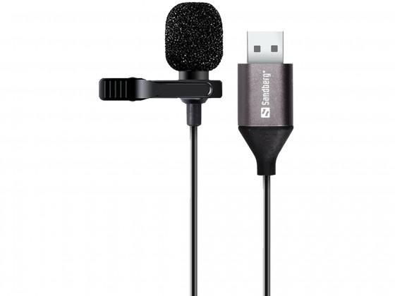 Mikrofon Sandberg Streamer Clip