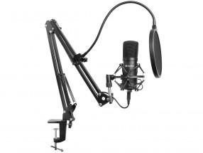 Mikrofon Sandberg Streamer Kit, černý