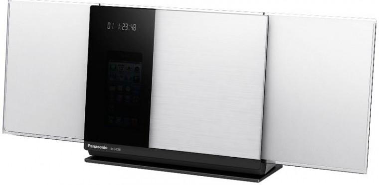 Mikrosystém Panasonic SC-HC38EC-W bílá