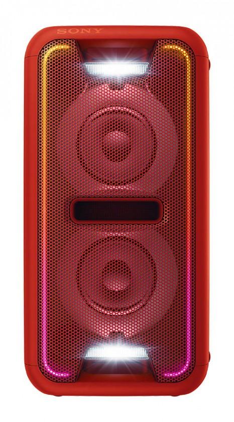 Mikrosystém Party systém SONY GTK-XB5 Červený