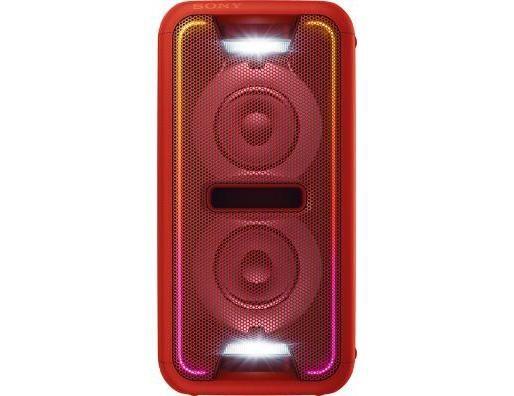 Mikrosystém SONY GTK-XB7R, červené