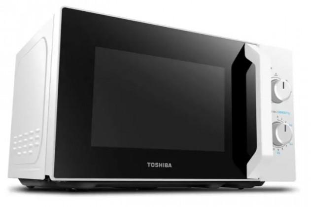 Mikrovlnná trouba s grilem Toshiba MW-MG20P Bílý, 800/1000W