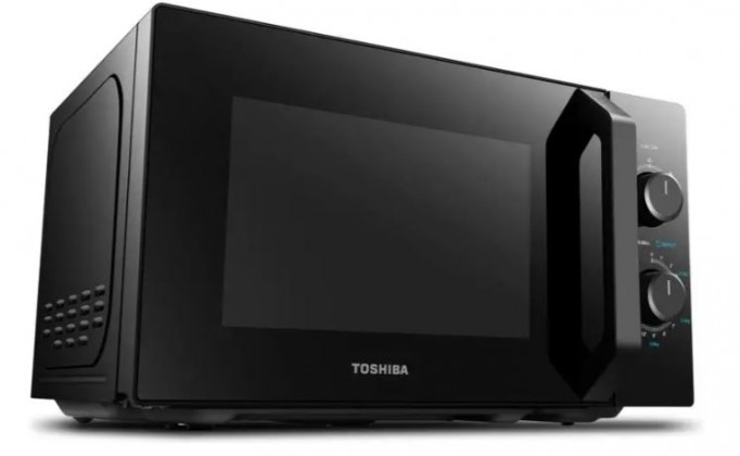 Mikrovlnná trouba s grilem Toshiba MW-MG20P Černá, 800/1000W