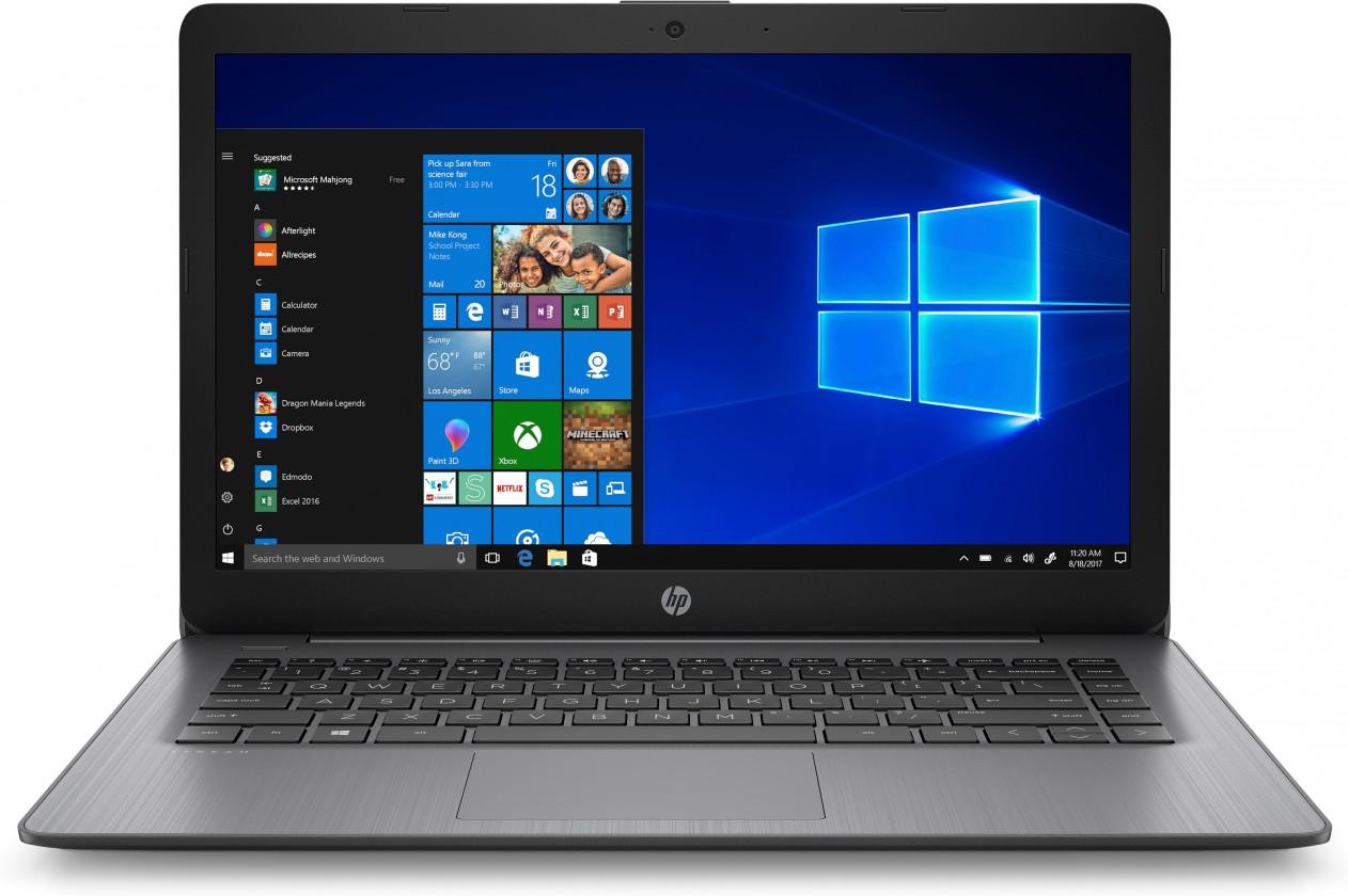 "Mininotebook Notebook HP 14-ds0005nc 14"" AMD A4 4GB, 64GB, Black"