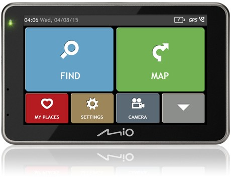 Mio combo 5207 FULL EUROPE TRUCK LM plus 8GB SD card
