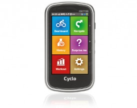 Mio Cyclo 405, GPS cyklonavigace