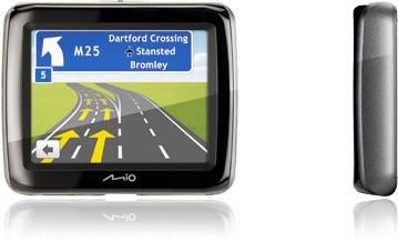 "MIO Spirit 380c GPS navigace, LCD 3,5"", Text To Speech, mapy CEU"