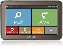 "MIO Spirit 7100 GPS navigace, LCD 5"", mapy EU (44) Lifetime"