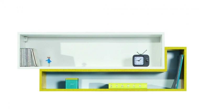 MOBI MO 14 (bílá lesk/žlutá)