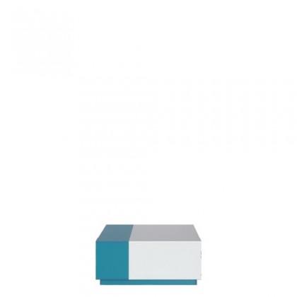 MOBI MO 16 (bílá lesk/tyrkysová)