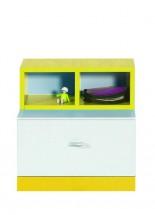 MOBI MO 17 (bílá lesk/žlutá)