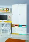 MOBI MO 3 L/P (bílá lesk/žlutá)