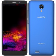 Mobilní telefon ALIGATOR S5520 Duo 1GB/16GB, modrý + DÁREK Antivir Bitdefender pro Android v hodnotě 299 Kč