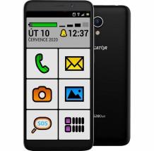 Mobilní telefon ALIGATOR S5520 SENIOR 1GB/16GB, černý POUŽITÉ, NE + DÁREK Antivir ESET pro Android v hodnotě 299 Kč