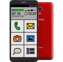 Mobilní telefon Aligator S5520 Senior 1GB/16GB, červená + DÁREK Antivir Bitdefender pro Android v hodnotě 299 Kč