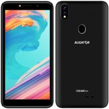 Mobilní telefon Aligator S5540 2GB/32GB, černá POUŽITÉ, NEOPOTŘEB