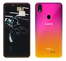 Mobilní telefon Aligator S5540 2GB/32GB, růžovo-zlatá