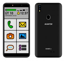 Mobilní telefon ALIGATOR S5540KS 2GB/32GB, Kids+Senior, černý POU