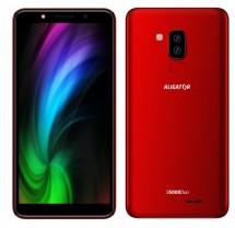 Mobilní telefon Aligator S6000 1GB/16GB, červená
