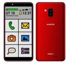 Mobilní telefon Aligator S6000 senior 1GB/16GB, červená