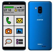 Mobilní telefon Aligator S6000 senior 1GB/16GB, modrá