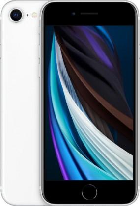 Mobilní telefon Apple iPhone SE (2020) 64GB, bílá