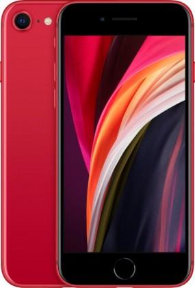 Mobilní telefon Apple iPhone SE (2020) 64GB, červená