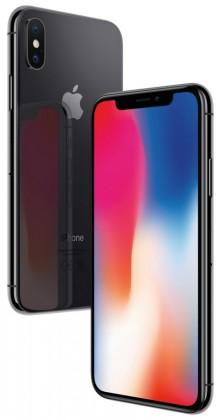 Mobilní telefon Apple iPhone X 64GB, vesmírně šedá