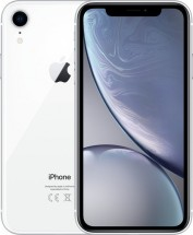 Mobilní telefon Apple iPhone XR 128GB, bílá