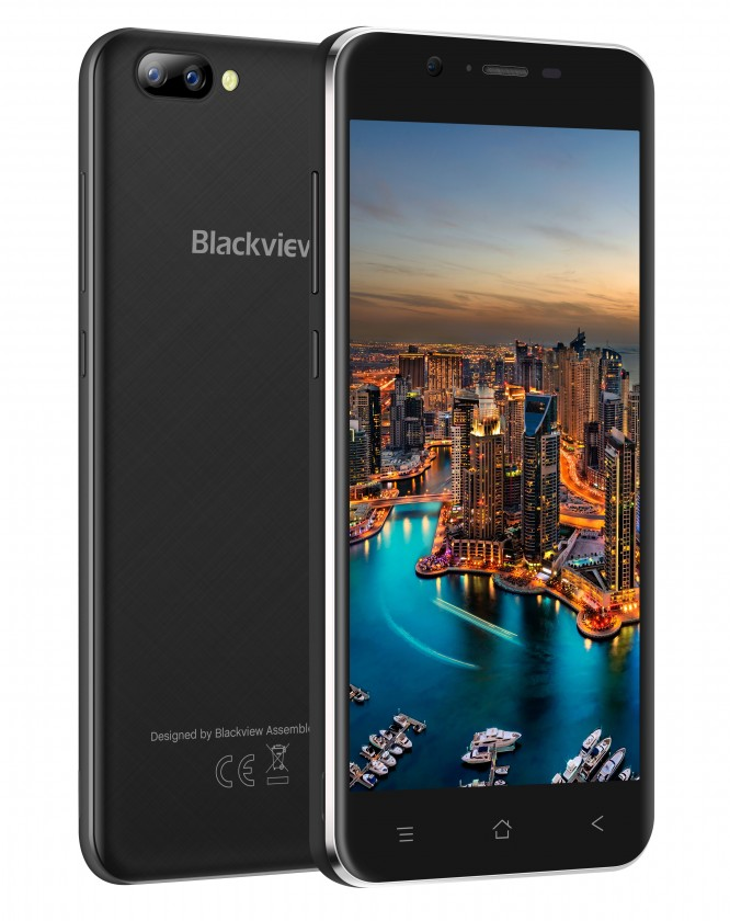 Mobilní telefon iGET Blackview GA7 1GB/8GB, černá