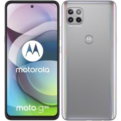 Mobilní telefon Motorola G 5G 6GB/128GB, stříbrná