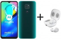 Mobilní telefon Motorola G9 Play 4GB/64GB, zelená + MotoBuds