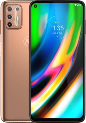 Mobilní telefon Motorola G9 Plus 4GB/128GB, zlatá
