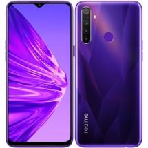 Mobilní telefon Realme 5 4GB/128GB, fialová
