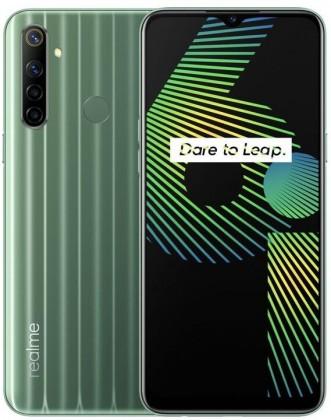Mobilní telefon Realme 6i 4GB/128GB, zelená
