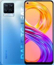 Mobilní telefon Realme 8 Pro 8GB/128GB, modrá
