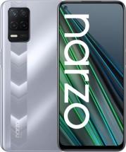 Mobilní telefon Realme Narzo 30 5G 4GB/128GB, stříbrná