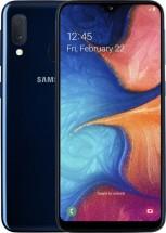 Mobilní telefon Samsung Galaxy A20e 3GB/32GB, modrá + DÁREK Powerbanka Canyon 7800mAh v hodnotě 349 Kč  + DÁREK Antivir Bitdefender pro Android v hodnotě 299 Kč
