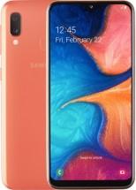 Mobilní telefon Samsung Galaxy A20e 3GB/32GB, oranžová + Powerbanka Swissten 6000mAh