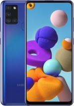 Mobilní telefon Samsung Galaxy A21s 4GB/64GB, modrá + DÁREK Antivir Bitdefender pro Android v hodnotě 299 Kč